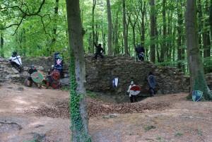 Training auf Burg Holte
